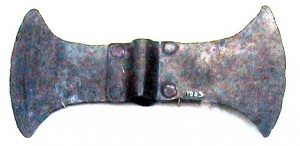 A labrys ( Bronze Ax) from Knossos, Messara, Crete