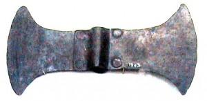 A labrys ( Bronze Ax) from Knossos, Messara, Crete