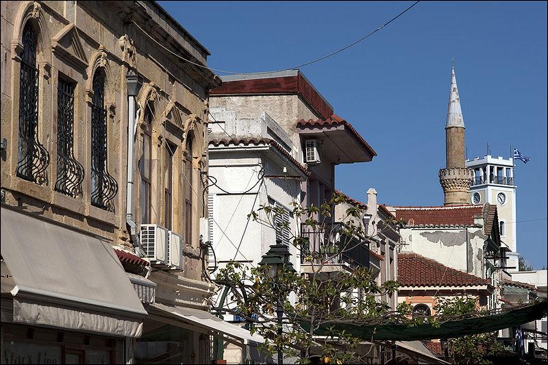 Yeni mosque clocktower, Komotini, Greece