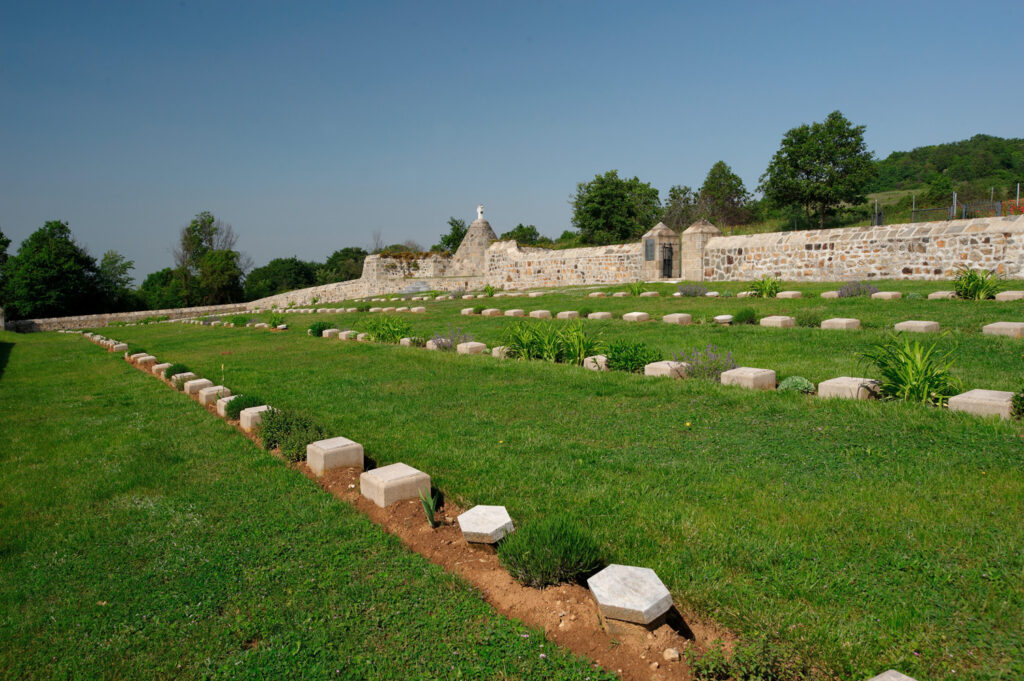 Lahana WWI British Military Cemetery, Macedonia, Greece