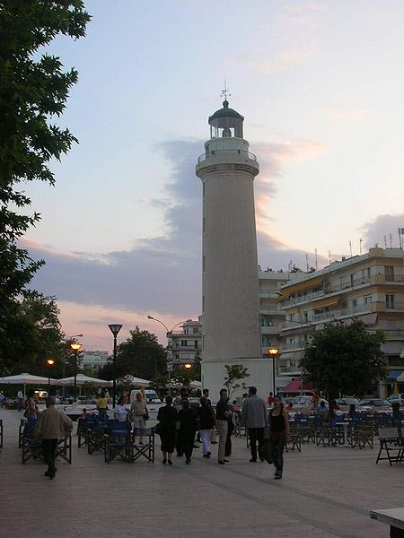 Lighthouse at Alexandroupolis, Greece