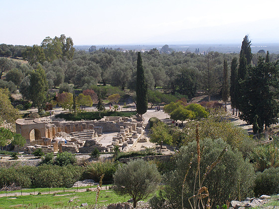 Odeion of Gortyn, Crete, Greece
