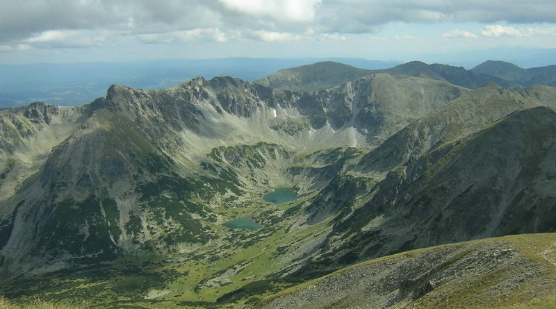 The source valley of the Maritsa river in the Rila Mountains