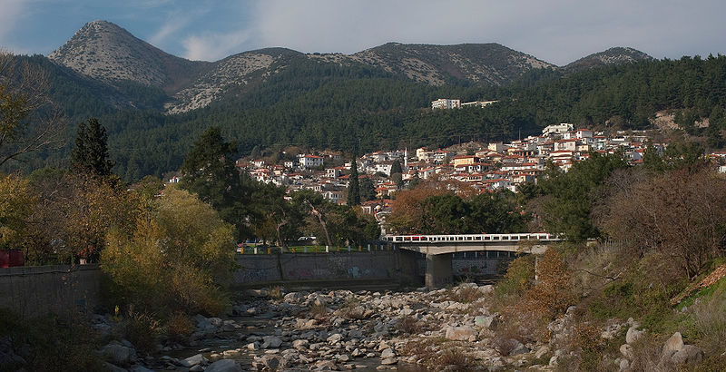 Xanthi from Kosynthos river, Thrace, Greece
