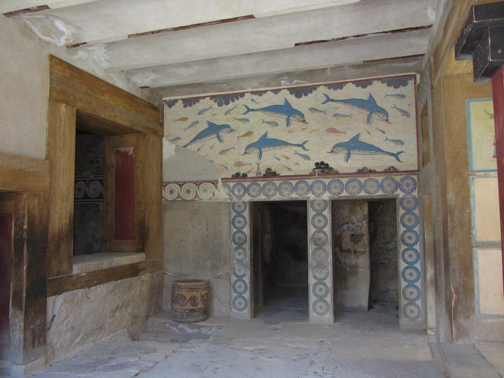 Travel to Knossos, Crete, Greece