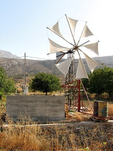 Windmill at Lassithi plateau, Crete