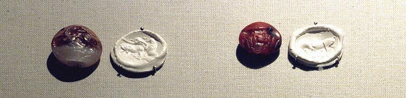 Seals—impressions (Minoan civilization)