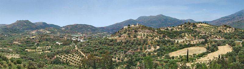 Zaros village, Crete