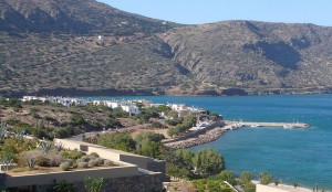 Plaka village and port, Lasithi, Crete