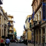 A street of Heraklion, Crete