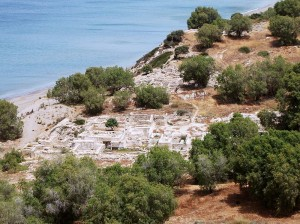 Archaeological site of Kommos, South coast of Crete