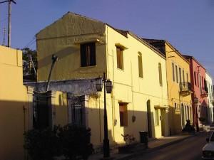 Street in Archanes, Crete