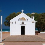 Church in Kato Gouves by the sea, Hersonissos, Crete