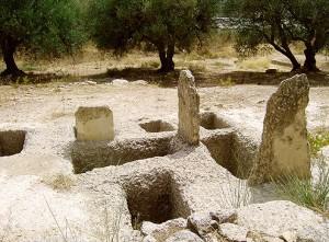 Mycenean grave Fourni Archanes, Crete