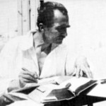 The Cretan philosopher and writer, Nikos Kazantzakis