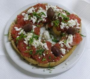 Koukouvagia, traditional Cretan dish