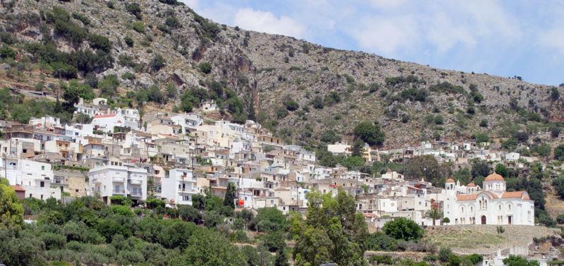 Kritsa village, Crete