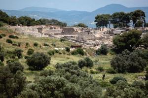 Phaistos - general view, Crete