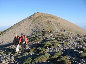 Mount Psiloritis, east ridge, Crete, Greece