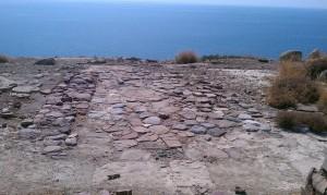 Pyrgos Myrtos overlooking the Libyan Sea, Crete