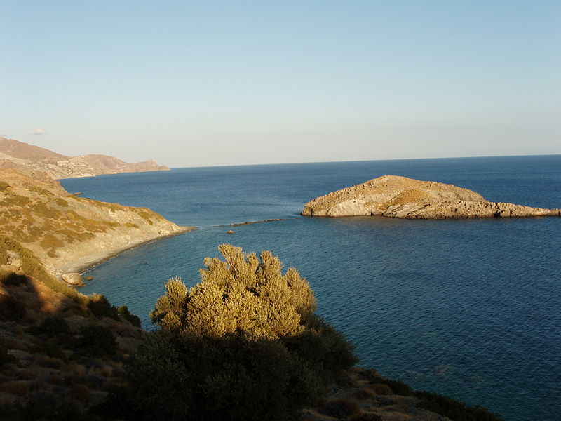 Trafos islet, south of Crete