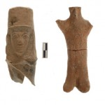 Votive Terracotta figurines from the altar of Archaic Shrine at Azoria, Crete