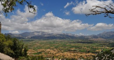 Rural area, Lasithi, region, Crete, Greece