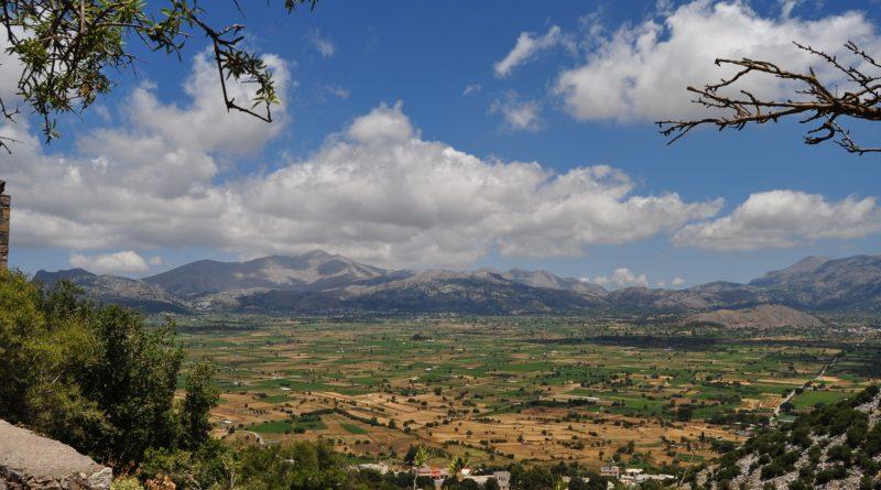Rural area, Lasithi, region, Crete, Greece