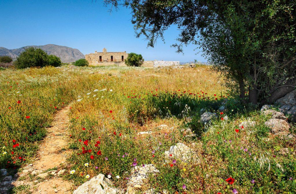 Travel to Kritsa village in Crete, Greece
