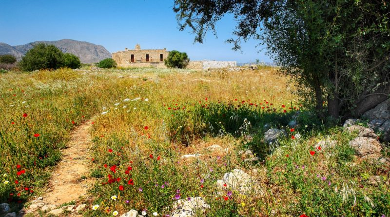 Travel to Kritsa village in Crete, Greece