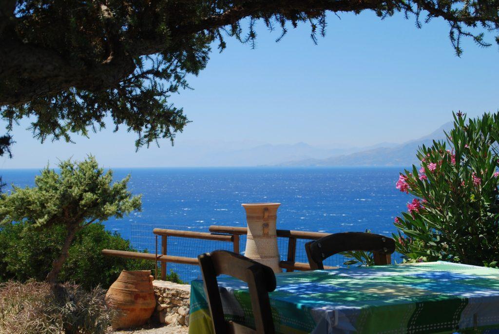 Tavern in Crete, Greece