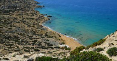 Travel to Matala Beach, Crete, Greece