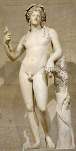 2nd century Roman statue of Dionysus, after a Hellenistic model (Louvre)