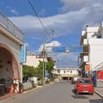 Street in Palekastro village, Eastern Crete