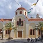 Church in Palekastro, Eastern Crete