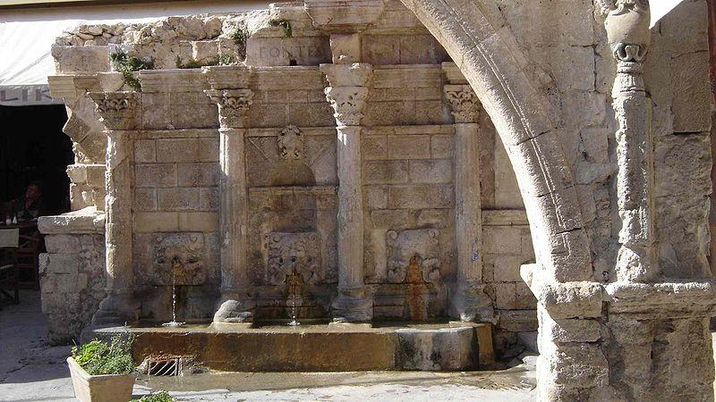 Rethymno Fontaine Rimondi, Crete, Greece