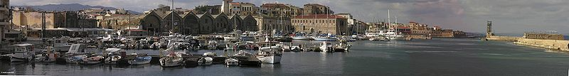 Chania panorama, Crete