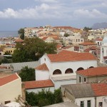 Kasteli, central part of Chania, Greece