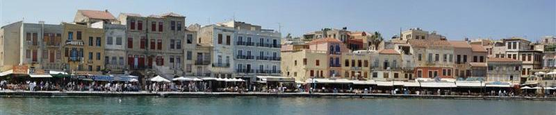 Chania Port, Greece