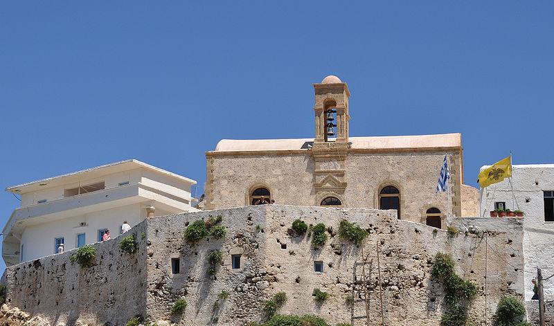 Monastery of Chrysoskalitissa in Crete near Elafonisi Island