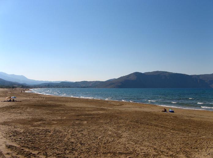 Georgioupolis beach, Crete