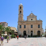 Greek Orthodox cathedral in Chania, Crete