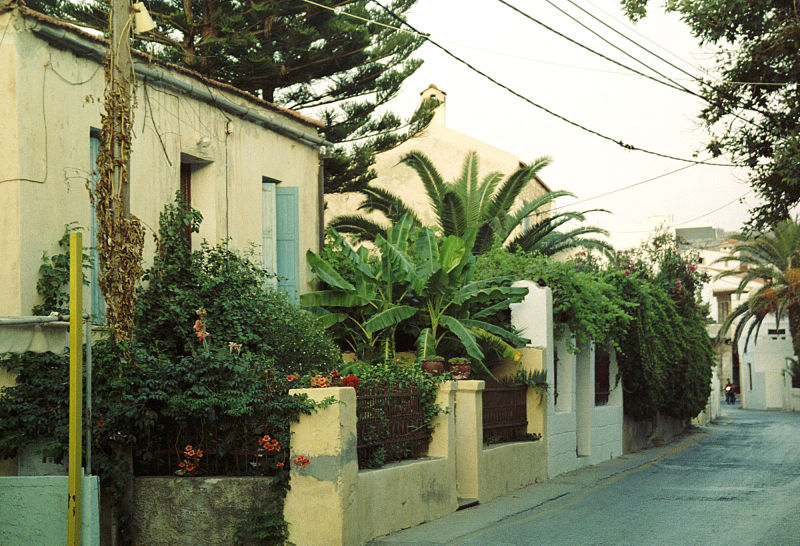 Kalives houses, Chania region, Crete