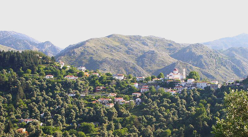 Lakkoi village, Crete, Greece