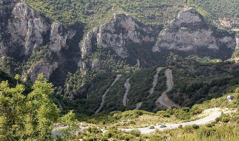 Lousios Gorge, Arkadia, Peloponnese, Greece