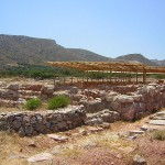 Minoan ruins at Roussolakkos, eastern Crete