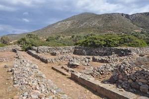 Minoan site of Roussolakkos at Palekastro, eastern Crete