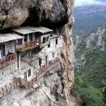 Monastery Prodromou, Lousios Gorge, Arkadia, Peloponnese, Greece