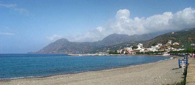 Plakias beach, southern Crete