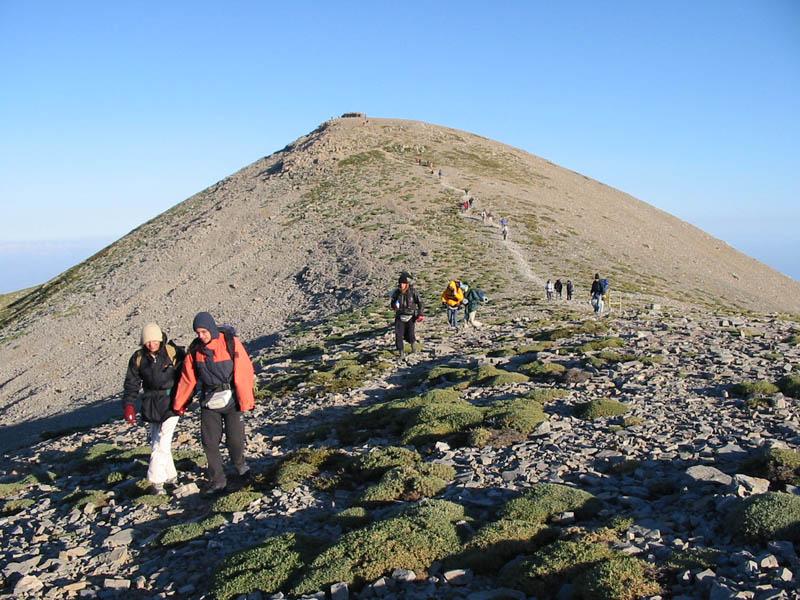 Mount Psiloritis,the east ridge, Rethymno, Crete